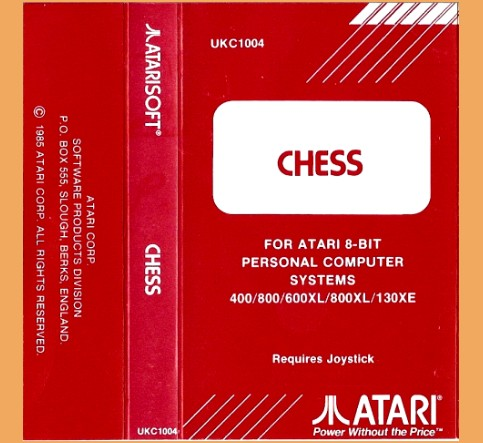 Atari 400/800/800XL/1200XL Atari Chess (1986)