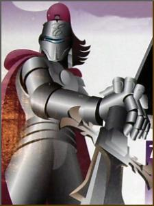 �Excalibur Knight� picture taken from a box