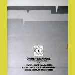 Fidelity Excel Display (1987) User Manual