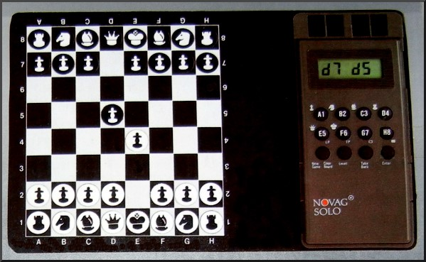 NOVAG SOLO Electronic Chess Computer.